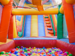 bounce house and ball pit rental
