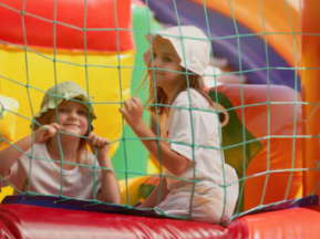 net bounce house rental